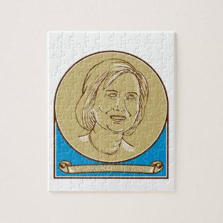 Hillary Clinton 2016 Democrat Candidate Jigsaw Puzzle