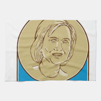 Hillary Clinton 2016 Democrat Candidate Towel