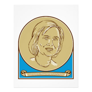 Hillary Clinton 2016 Democrat Candidate Letterhead