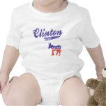 Hillary Clinton 2016 Demócratas deportivos Traje De Bebé