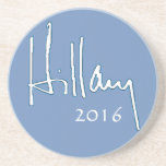 Hillary Clinton 2016 Drink Coasters