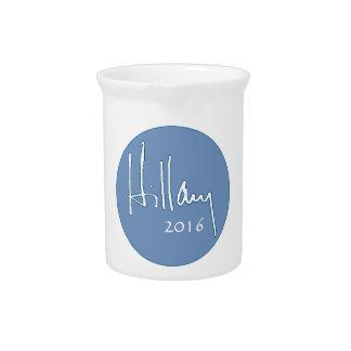 Hillary Clinton 2016 Drink Pitcher