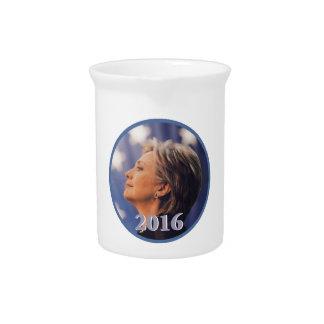 Hillary Clinton 2016 Drink Pitchers