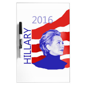 Hillary Clinton 2016 Dry-Erase Boards