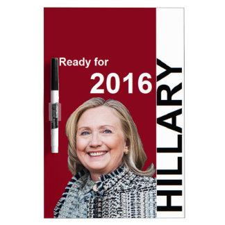 Hillary Clinton 2016 Dry-Erase Whiteboards