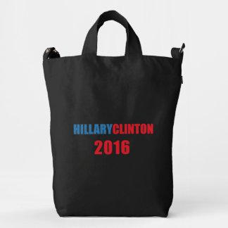 Hillary Clinton 2016 Duck Canvas Bag