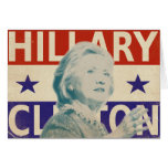 Hillary Clinton 2016 Election Greeting Card