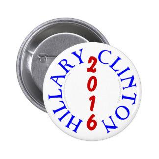 Hillary Clinton 2016 Election Pinback Button