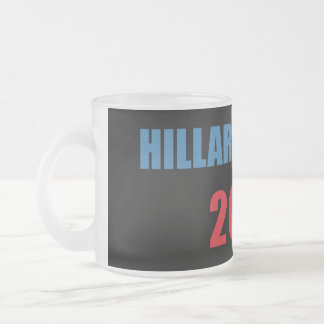 Hillary Clinton 2016 Frosted Glass Coffee Mug