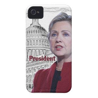 Hillary Clinton 2016 iPhone 4 Funda