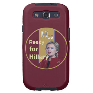 Hillary Clinton 2016 Galaxy S3 Carcasa