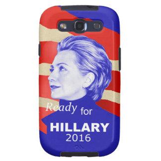Hillary Clinton 2016 Samsung Galaxy S3 Carcasa