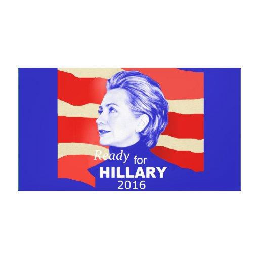 Hillary Clinton 2016 Gallery Wrap Canvas