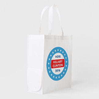 Hillary Clinton 2016 Grocery Bag