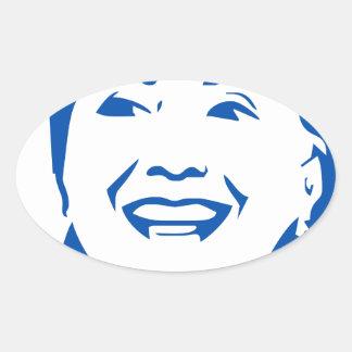 HIllary Clinton 2016 | HIllary Clinton President Oval Sticker