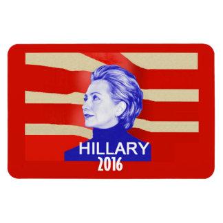 Hillary Clinton 2016 Imán De Vinilo