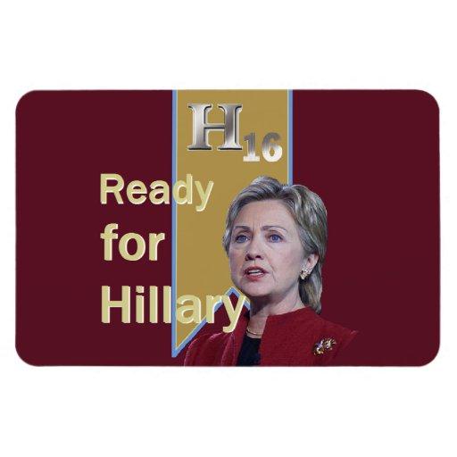 Hillary Clinton 2016 Iman Rectangular