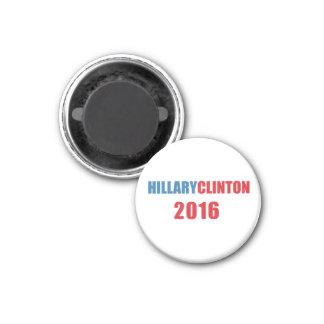 Hillary Clinton 2016 Imán Redondo 3 Cm