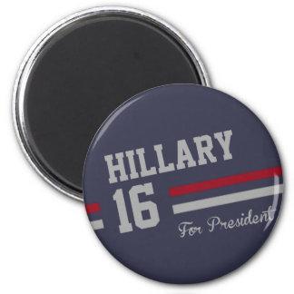 Hillary Clinton 2016 Imán Redondo 5 Cm