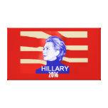 Hillary Clinton 2016 Impresión En Lienzo