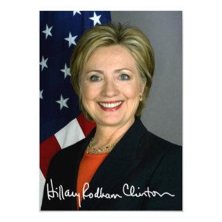 Hillary Clinton 2016 Invitaciones Magnéticas