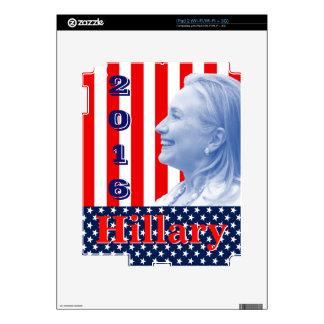 Hillary Clinton 2016 iPad 2 Calcomanías