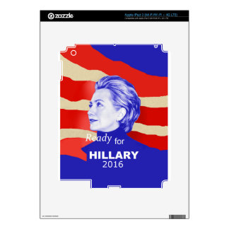 Hillary Clinton 2016 iPad 3 Decals