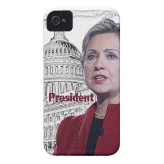 Hillary Clinton 2016 iPhone 4 Carcasa