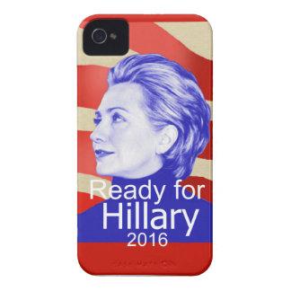 Hillary Clinton 2016 iPhone 4 Case-Mate Cárcasas