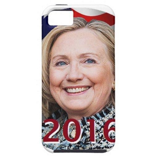 Hillary Clinton 2016 iPhone 5 Case-Mate Carcasas
