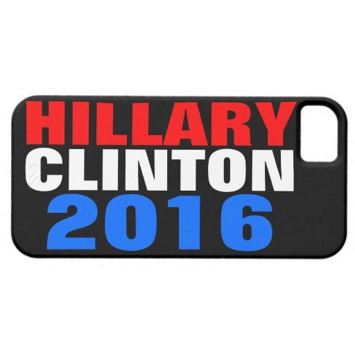 HILLARY CLINTON 2016 iPhone 5 Case-Mate COBERTURA