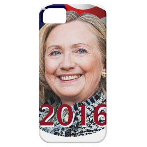 Hillary Clinton 2016 iPhone 5 Protectores