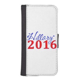 Hillary Clinton 2016 iPhone 5 Wallet