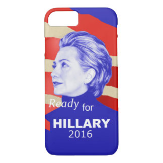 Hillary Clinton 2016 iPhone 7 Case
