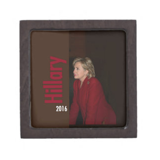 Hillary Clinton 2016 Jewelry Box