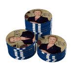 Hillary Clinton 2016 Juego De Fichas De Póquer