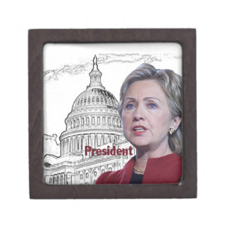 Hillary Clinton 2016 Keepsake Box