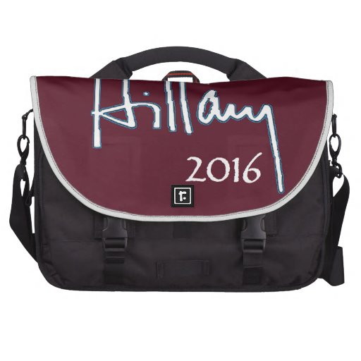 Hillary Clinton 2016 Laptop Commuter Bag
