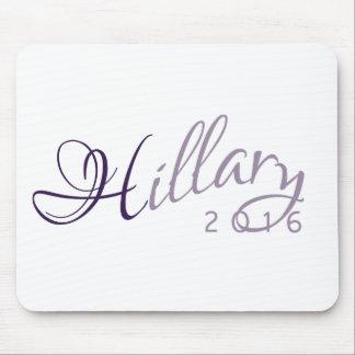 Hillary Clinton 2016 Lavender Campaign Logo Mouse Pad