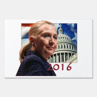 Hillary Clinton 2016 Letreros