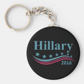 Hillary Clinton 2016 Llavero Redondo Tipo Pin