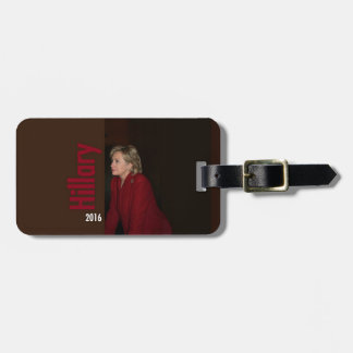 Hillary Clinton 2016 Luggage Tag