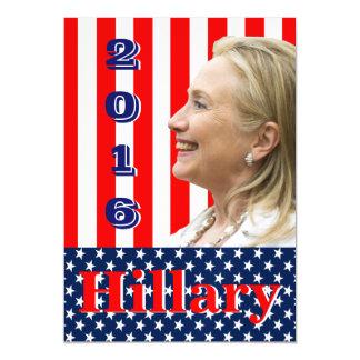 Hillary Clinton 2016 Magnetic Card