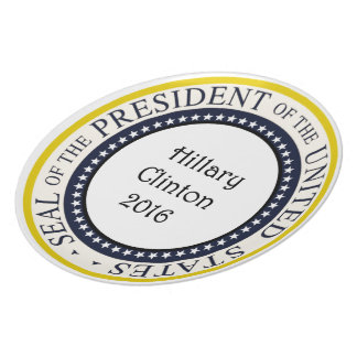 Hillary Clinton 2016 Multiple Products Plate