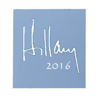 Hillary Clinton 2016 Note Pad