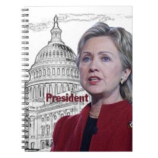 Hillary Clinton 2016 Note Book