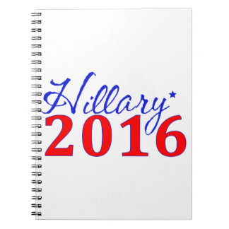 Hillary Clinton 2016 Notebooks