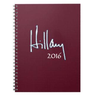 Hillary Clinton 2016 Notebook