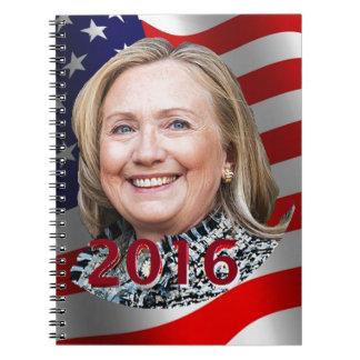 Hillary Clinton 2016 Spiral Notebooks