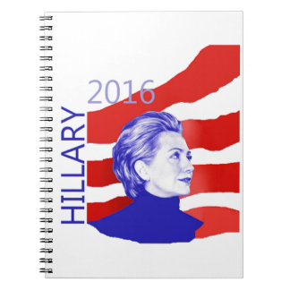 Hillary Clinton 2016 Notebook